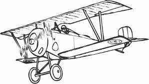 aeroplane coloring