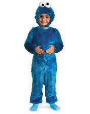 Toddler Monster Halloween Costume Toddler Cookie Monster Costume Ebay