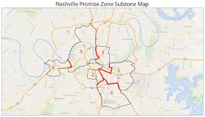 Nashville Metro Maps by Named A U0027promise Zone U0027 Nashville To Get Federal Volunteers And