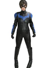 nightwing cool black costume for nightwing cosplay the