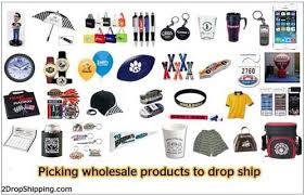 picking wholesale products to drop ship