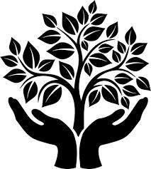 tree symbol tree of knowledge symbol tree hand hires ideas pinterest