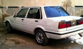 toyota 86 corolla corolla 86 92 white for sale karachi pakistan free