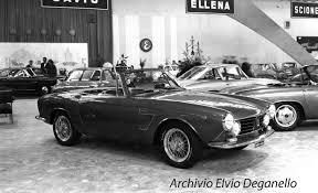 fiat spider white coachbuild com fissore fiat 1600 s spider maina design 1964