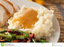 how to make thanksgiving mashed potatoes homemade organic mashed potatoes with gravy royalty free stock