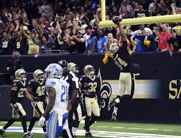 saints u0027 big play defense fuels wild 52 38 win over lions wtop