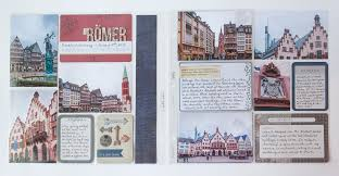 travel photo album project travel album the römer scrapbook update