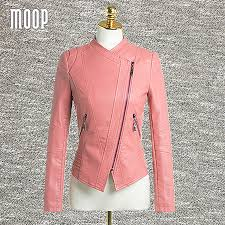 pink leather motorcycle jacket online get cheap pink leather vest aliexpress com alibaba group