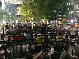 apple iphone x launch lines in new york london singapore sydney
