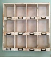 shabby chic wall unit shelf storage display cabinet cupboard