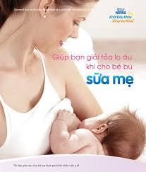 cho con bu lo hang giúp bạn giải tỏa lo âu khi cho bé bú sữa mẹ nestlé việt nam