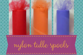 tulle spools the tulle shed tulle netting fabric supplies and more