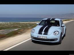 volkswagen bug light blue 2012 volkswagen beetle light blue with stripes front hd