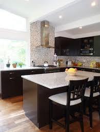 granite top island kitchen table kitchen modern kitchen design using black kitchen cabinet and
