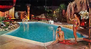 pics of mid century modern tiki backyards pools patios etc