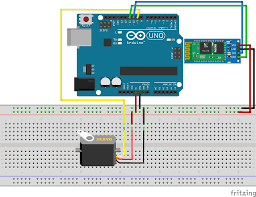 having a problem control digital servo with hc 06 bluetooth