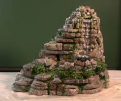 table top water fall how to build an indoor waterfall