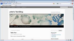 Wordpress Tables How To Create Wordpress Tables With Tinymce Youtube