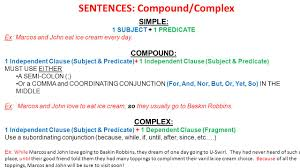 Simple Complex And Compound Sentences Worksheet You Should Not Start A Sentence With And But Or So Ppt Video