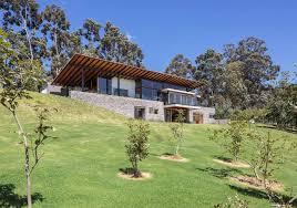 lake house plans on a slope
