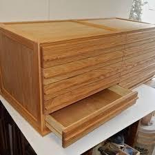 Wood Flat File Cabinet Furniture U003e Office U003e Storage U0026 Organization U003e File Cabinets