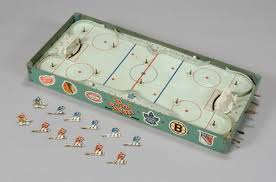 Table Top Hockey Game Dining Room