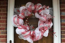 deco mesh wreath tutorial big s