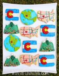 Colorado Flag Tie Dye Shirt Worth Pinning Colorado Sugar Cookie Set