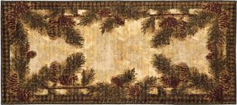 Pine Cone Area Rugs Brumlow Mills Pine Cone Gingham Kitchen Light Yellow Area Rug