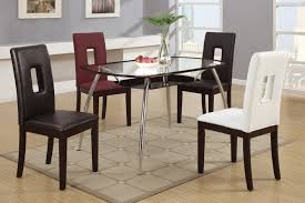 4 Chair Dining Table Set With Price Black Leather Dining Chair Steal A Sofa Furniture Outlet Los