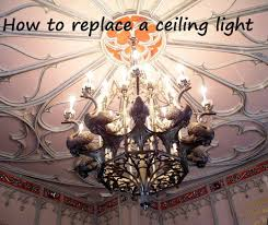 how to replace a ceiling light fixture dengarden