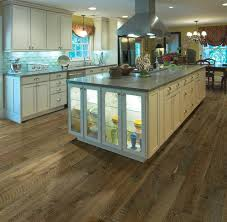 Engineered Hardwood In Kitchen Hallmark Floors Organic Gunpowder White Oak Engineered Hardwood