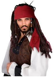 authentic pirate wig halloween costumes