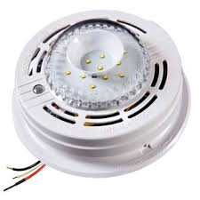 flashing green light on kidde smoke detector kidde sled177i strobe light