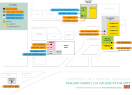 Map Of Oakland Computer Labs Educational Technology Services