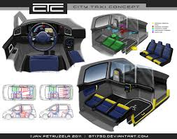 city taxi concept v2 interior by gt1750 on deviantart