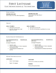 Resume Word Template Free Word Curriculum Vitae Template Resume Template For Word And