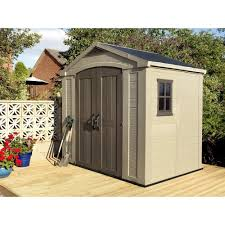 Keter Plastic Decorating 6x2 Oakland High Store Plastic Tall Keter Shed For