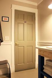 Painting Doors And Trim Different Colors   got the idea to paint interior doors on pinterest i went with dark