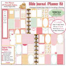 bible journaling in a planner biblejournallove com