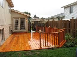 Nice Backyard Beautiful Backyard Deck Ideas Ground Level 1000 Ideas About Ground