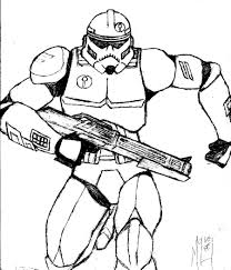 star wars clone trooper coloring pages chuckbutt com