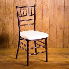 fruitwood chiavari chairs fruitwood chiavari chair with pad rental houston peerless events