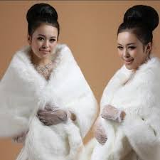 fur shawls for bridesmaids fashion faux fur wrap shrug bolero warm shawl wedding dress