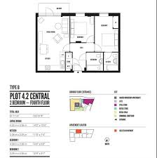 Gatwick Airport Floor Plan by Temple House Brighton Station 6 Fleet Street Brighton 2 Bed