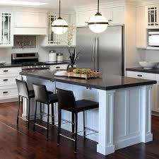 kitchen island large gray kitchen island with black cafe stools transitional