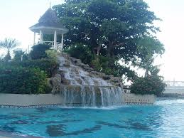 landscape water fall fountain backyard design ideas how to build