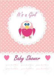 it s a baby with cute owl baby shower design vector