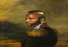 mr t feather earrings 23 epic faceswap painting edition gallery ebaum s world