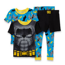 boys cotton pajama kmart com sleepwear dc comics batman v superman